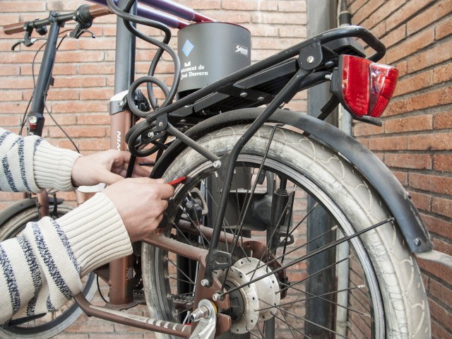 Punt bici a Sant Just