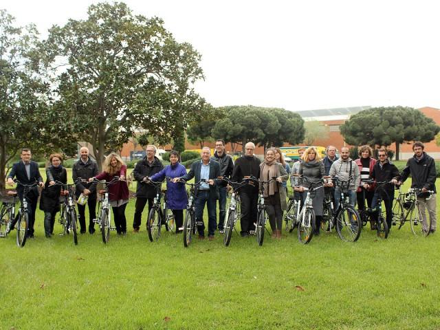 Cessió de bicis al personal de l'AMB