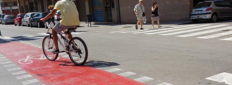 Nou carril bici al Prat!
