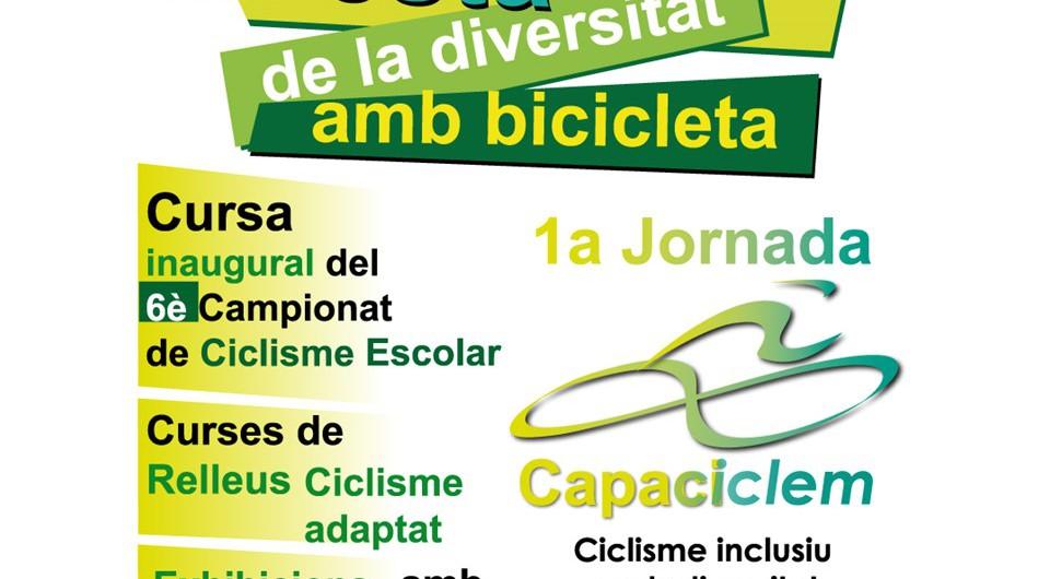 Capaciclem, jornada de ciclisme inclusiu
