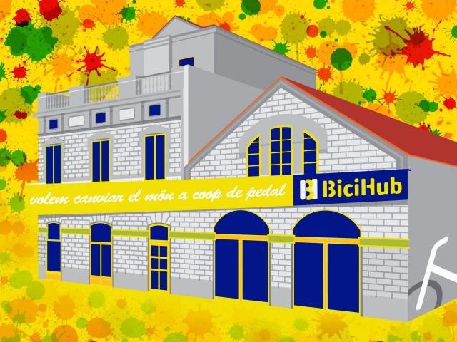 Obre el Bicihub a Can Picó