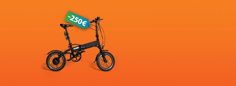 Vols una bici elèctrica? Estalvia 250 €!