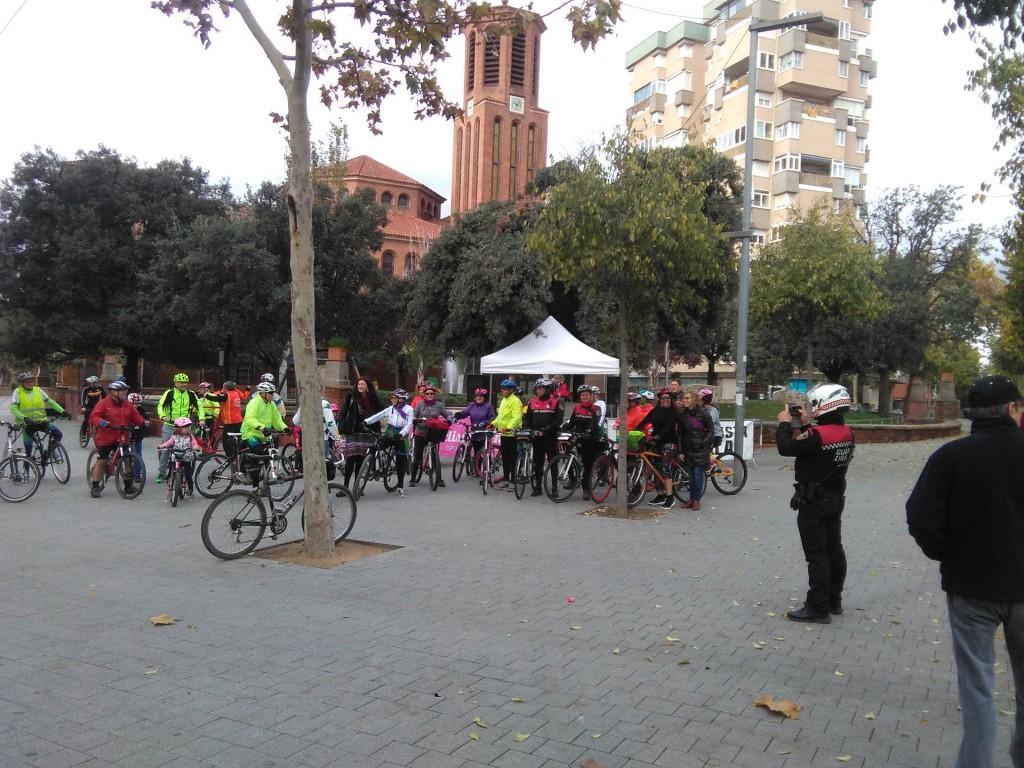 Pedalada contra violencia masclista Cornellà_1