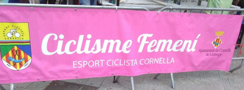 Pedalada en contra de la violència masclista a Cornellà