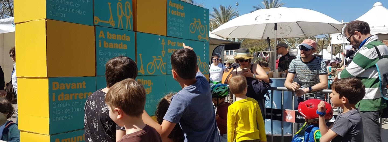 Bicivisme a la festa de la bici