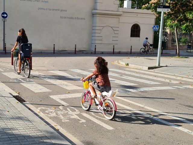 Ús potencial de la bici a la metròpolis