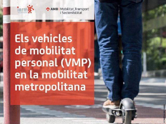 Nou estudi sobre els vehicles de mobilitat personal (VMP) a la metròpolis de Barcelona