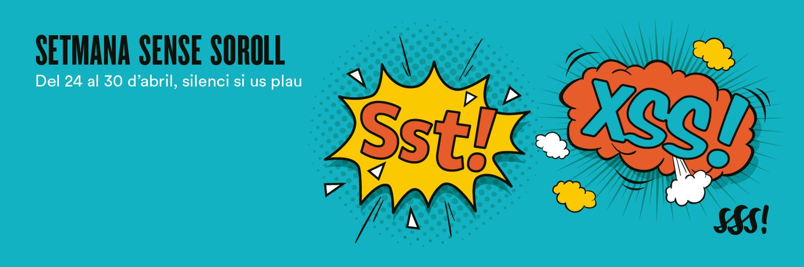 Web de la Setmana Sense Soroll #SSSoroll2017