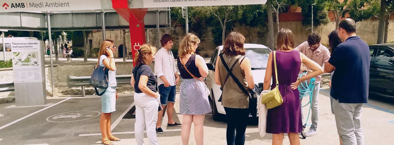 Visita a la fotolinera de Sant Feliu
