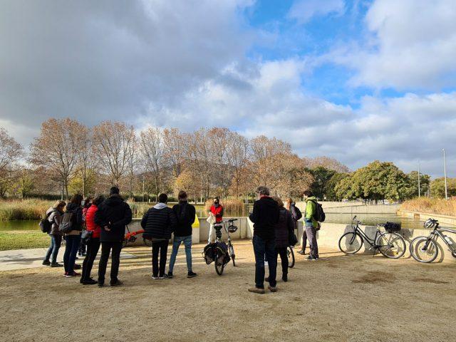 Parcs i pedals al Besòs