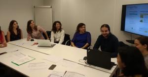 A. LEDESMA i resta de l' equip: Ecolocal Market App