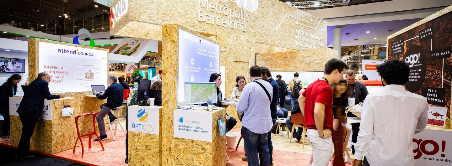 Empreses innovadores a l' Smart City Expo World Congress 2018