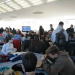 Taller de creativitat a la FNOB (Port de Barcelona)