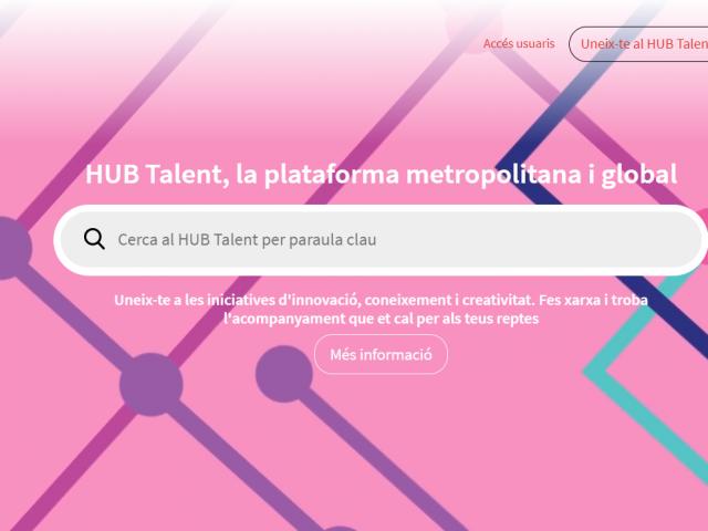 Neix la plataforma HUB Talent