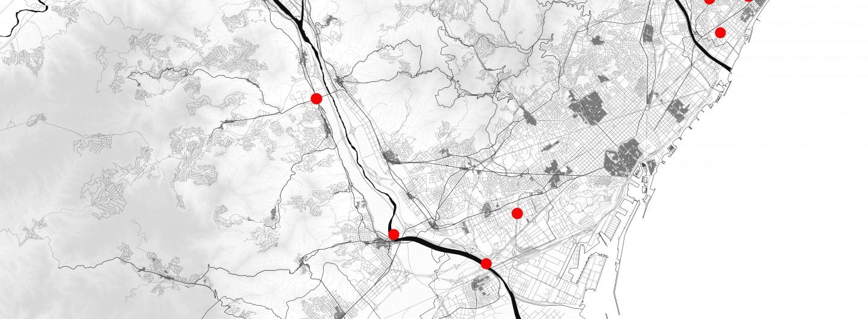 Petites intervencions per a la vertebració  de la metròpolis de Barcelona