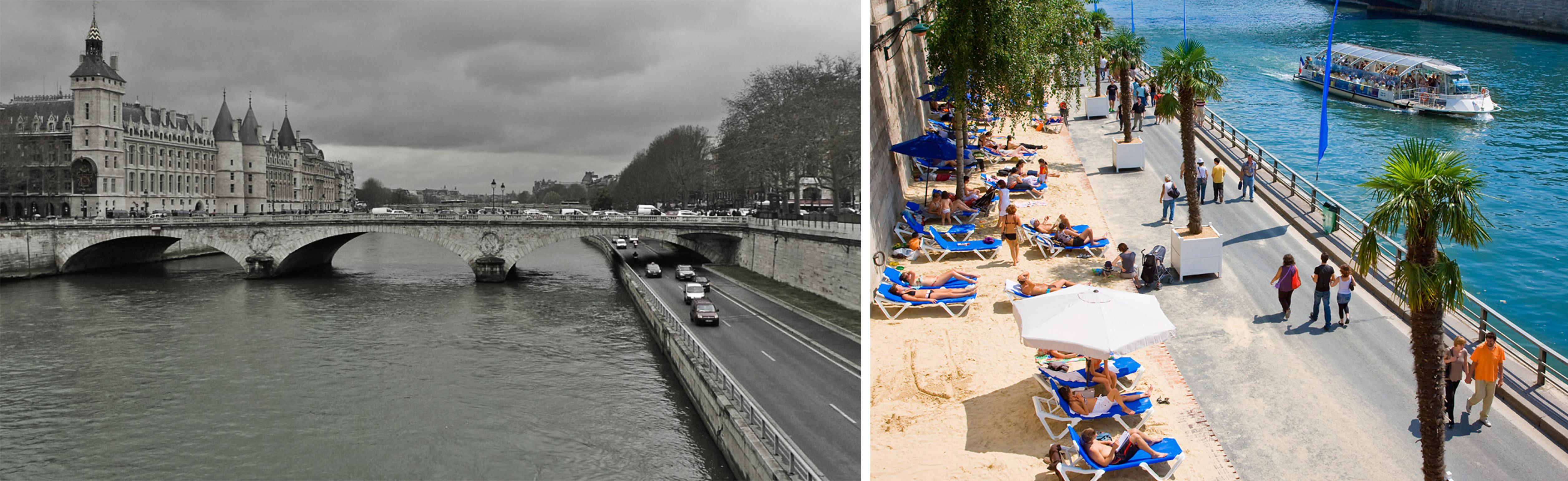 El projecte Réiventer la Seine explora noves solucions per valoritzar el riu com a recurs al llarg de tot el recorregut fins al port de Le Havre. http://www.reinventerlaseine.fr/fr/presse/
