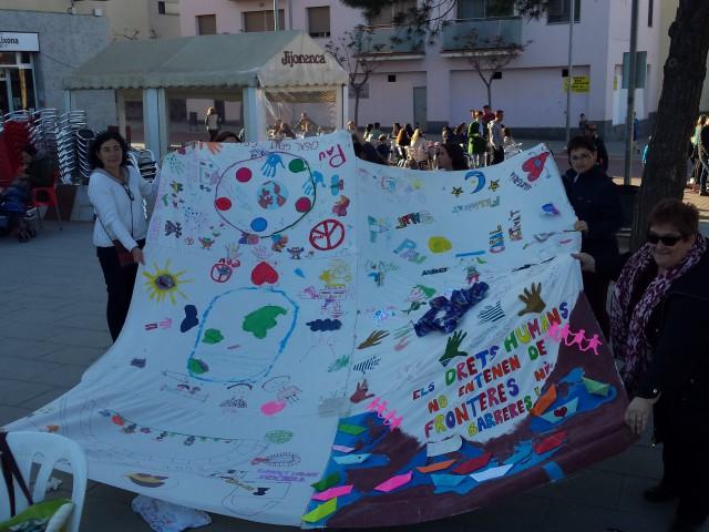 Santa Coloma de Cervelló pels drets humans