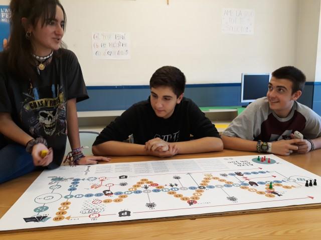 El Col·legi de la Salle de Montcada s'implica amb els drets de les persones refugiades