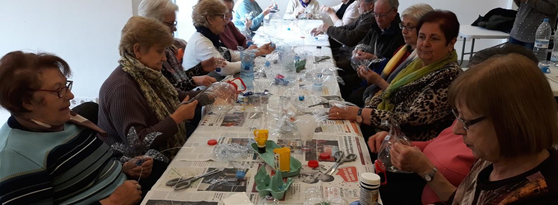 Sant Climent de Llobregat comença els tallers amb la participació de la gent gran