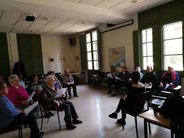 El Casal de Gent Gran de Torrelles també participa dels tallers musicals