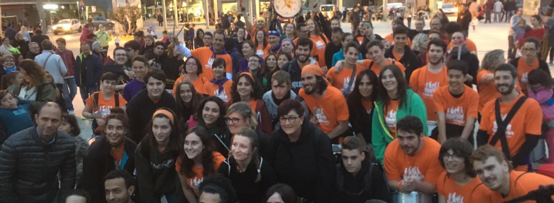 Gran batucada Solidària pels drets humans a Molins de Rei