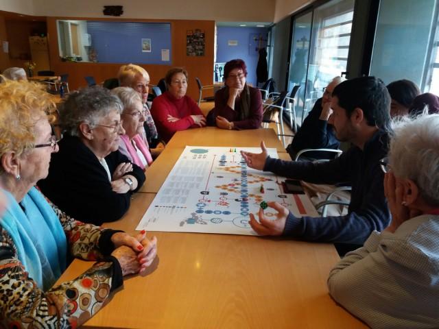 El Casal de Gent Gran de Santa Coloma de Cervelló aposta pels drets humans