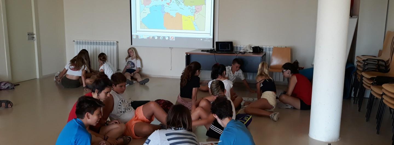 El Casal d'estiu de Santa Coloma de Cervelló participa al programa