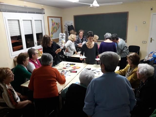 Iniciem els tallers amb el Casal de la Gent Gran de La Palma de Cervelló