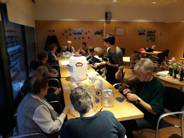 El Casal de la Gent Gran de Santa Coloma de Cervelló s'implica amb el Dret a l'Aigua de les persones refugiades