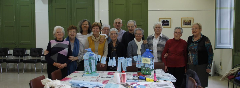 Iniciem els tallers a Torrelles amb el casal de la gent gran