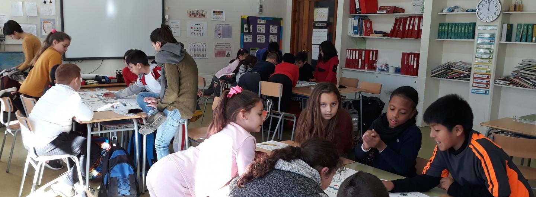 Tornem a la Colònia Güell amb la participació de l'Escola d'Educació Primària: Colònia Güell